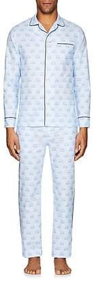 Maison Marcy Men's Magritte Slim Cotton Pajama Set