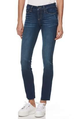 Paige Skyline Transcend Vintage Raw Hem Skinny Jeans
