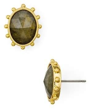 Kate Spade Faceted Oval Stud Earrings