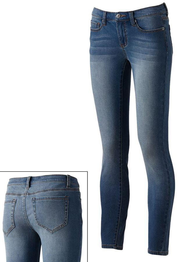 Mudd french terry jeggings - juniors