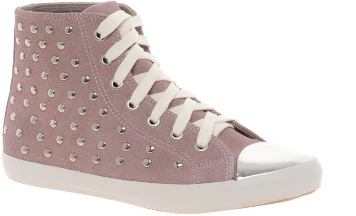 KG Lucciano Studded High Top Trainers