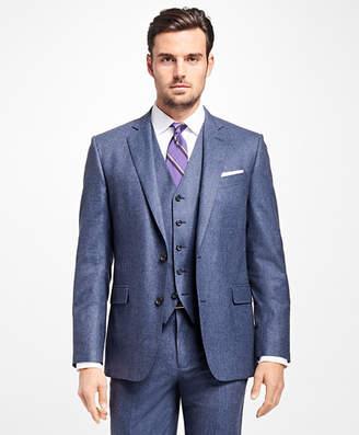 Brooks Brothers Regent Fit Three-Piece Flannel 1818 Suit