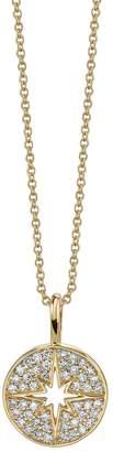 Sydney Evan Yellow Gold Mini Starburst Necklace