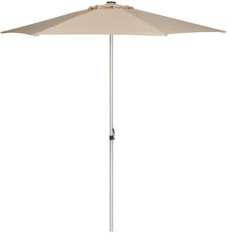 Safavieh Up Resistant Hurst 9 Ft Easy Glide Market Umbrella