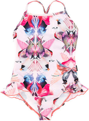 Molo digital-print swimsuit