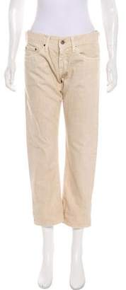Adriano Goldschmied Mid-Rise Cropped Jeans