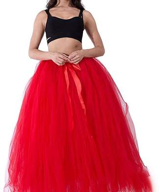 Laitefeier Maternity Photography Props Tutu Tulle Skirts Maxi Long for Photos Shoot