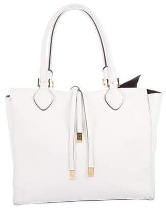 Michael Kors Large Leather Tote White Large Leather Tote