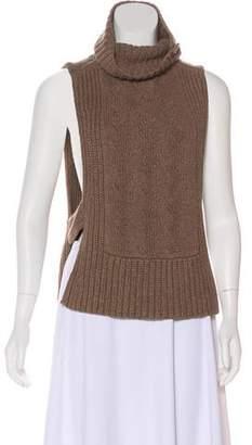 Mayle Sleeveless Cowl Neck Sweater