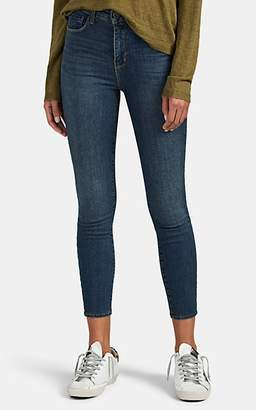 L'Agence Women's Margot High-Rise Skinny Jeans - Blue