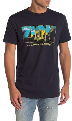 Body Rags Short Sleeve Zion National Park Sanctuary Tee