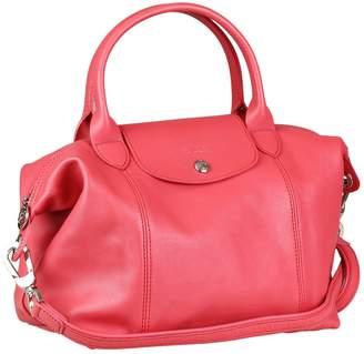 Longchamp Pliage leather crossbody bag