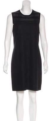 Magaschoni Sleeveless Silk-Blend Dress
