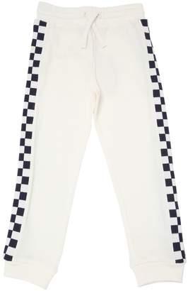 Stella McCartney Checkered Organic Cotton Sweatpants