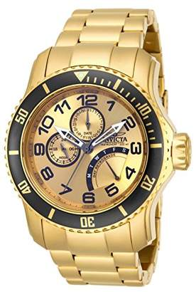 Invicta Men's 15343 Pro Diver 18k Ion-Plated Stainless Steel Watch