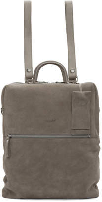 Marsèll Grey Suede Scatolaino Backpack
