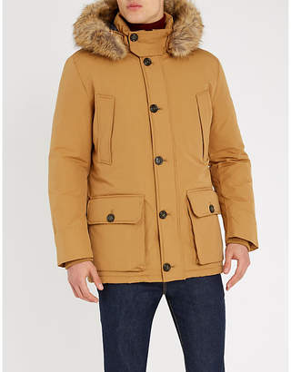 Tommy Hilfiger Hampton padded cotton-blend and faux-fur hooded parka