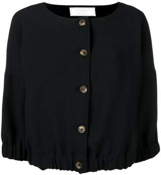 Societe Anonyme elastic top jacket