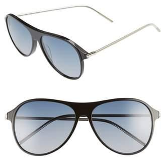CLYDE BONNIE Godspeed 58mm Aviator Sunglasses