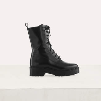 Maje Ranger style boots