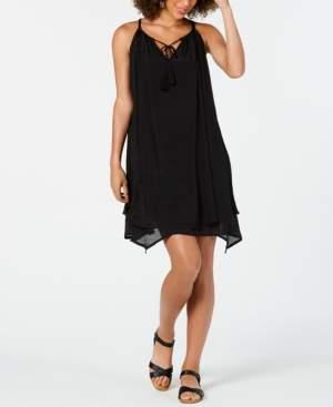 Style&Co. Style & Co Handkerchief-Hem Sleeveless Dress, Created for Macy's