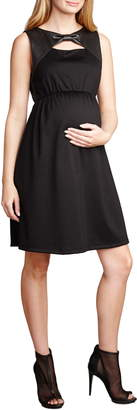 Maternal America Bow Shift Dress