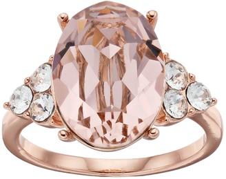 Brilliance+ Brilliance Oval Ring with Swarovski Crystals