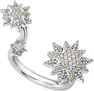 Lagos North Star Diamond Ring