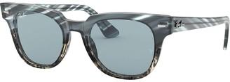 Ray-Ban Meteor Striped Havana Sunglasses