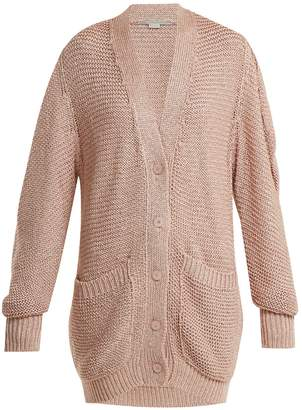 Stella McCartney Oversized chunky-knit cardigan