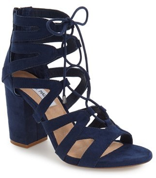 Women's Steve Madden 'Gal' Strappy Lace-Up Sandal $89.95 thestylecure.com