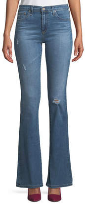 AG Jeans Angel 13 Years Mid-Rise Boot-Cut Jeans