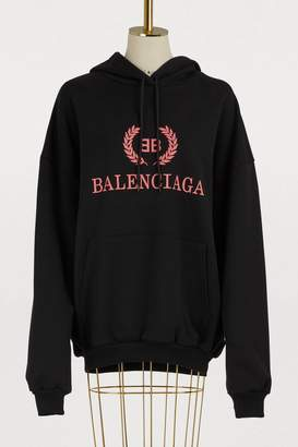 Balenciaga BB oversized hoodie