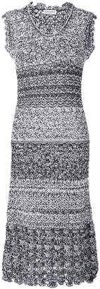 Sonia Rykiel crochet knit dress