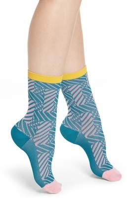 Happy Socks Hysteria by Greta Crew Socks