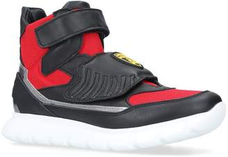 Bumper Lambo High-Top Velcro Sneakers