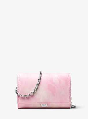 Michael Kors Yasmeen Tie-Dye Leather Clutch
