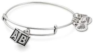 Alex and Ani Baby Block Expandable Wire Bangle