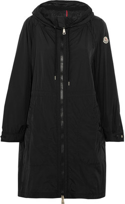 Moncler - Ortie Hooded Shell Jacket - Black $1,000 thestylecure.com