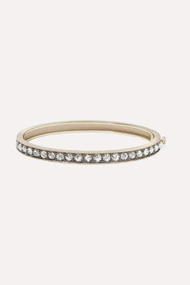 Sylva & Cie 18-karat White Gold Diamond Bangle - one size