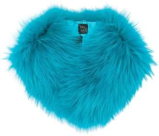 Mr & Mrs Italy racoon fur shawl