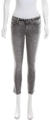 Paige Verdugo Crop Mid-Rise Jeans w/ Tags