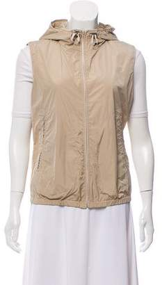 Herno Hooded Zip-Up Vest w/ Tags