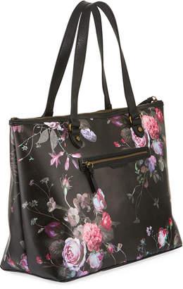 Elliott Lucca Aria Large Floral-Print Tote Bag