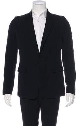 The Viridi-anne Wool Single-Button Blazer