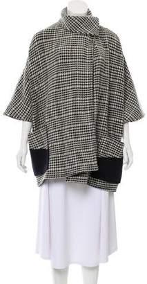 Roseanna Wool Houndstooth Coat