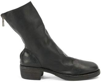 Guidi rear zip boots