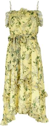 Keepsake Luscious Floral-print Chiffon Dress