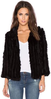 Heartloom Rosa Rabbit Fur Jacket