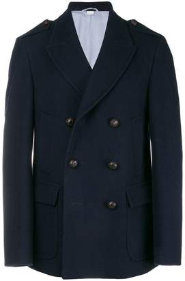 Gucci double-breasted short coat